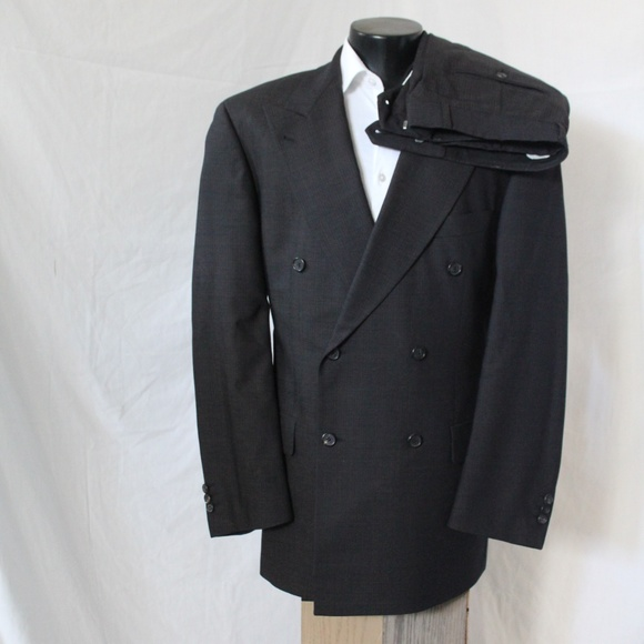 bd79716d5 Hugo Boss Suits & Blazers | 2 Pc Double Breasted Super 100 Suit 42 ...